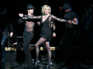 Melanie Griffith as Roxie Hart in Chicago