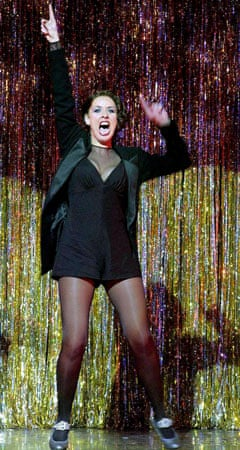 Claire Sweeney as Roxie Hart in Chicago