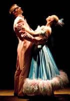 Adam Cooper and Sarah Wildor in Wallflowering at Sevenoaks Playhouse