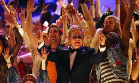 Elton John at the Tony awards
