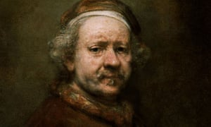 Self Portrait Aged 63 by Rembrandt, 1669