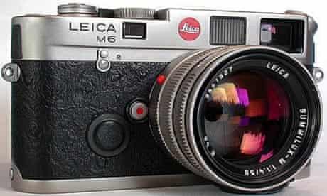 Leica M6, camera