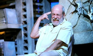 James Graeme as Ernest Hemingway in Too Close to the Sun at the Comedy theatre in London