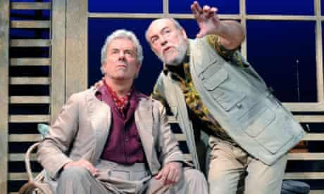 Jay Benedict and James Graeme in Too Close to the Sun at the Comedy theatre in London