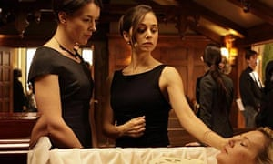 Eliza Dushku as Echo, and Olivia Williams as Adelle DeWitt in Episode 10 of Dollhouse