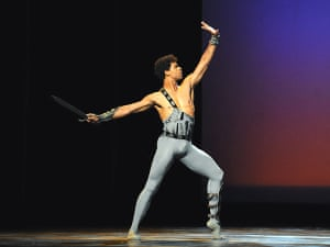 Carlos Acosta in Spartacus at the Coliseum in London