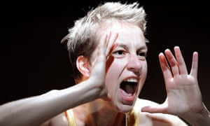 Anamaria Marinca in 4.48 Psychosis at the Young Vic in London
