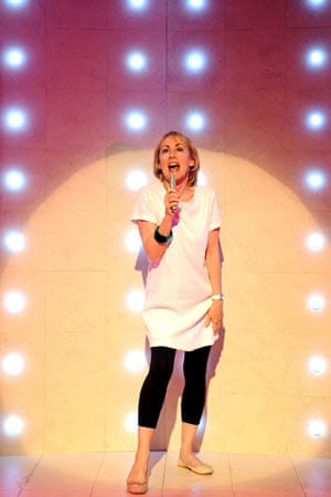 Paula Wilcox as Shirley in Dreams of Violence at the Soho theatre