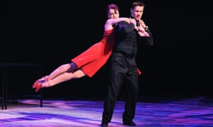 Emma Samms and Adam Cooper in Shall We Dance at Sadler's Wells