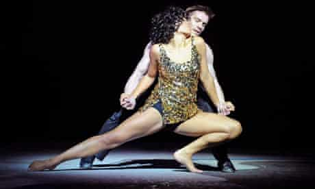 Ebony Molina and Adam Cooper in Shall We Dance at Sadler's Wells