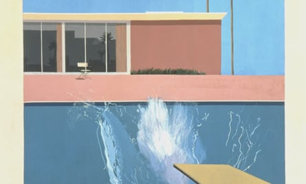 A Bigger Splash, 1967, David Hockney