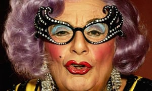 Dame Edna Everage aka Barry Humphries
