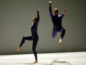 A scene from Event by Merce Cunningham at the Barbican in 2005
