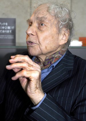 Merce Cunningham in 2005