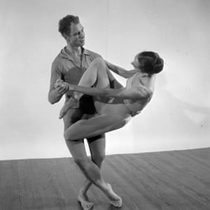 Merce Cunningham and partner in 1957