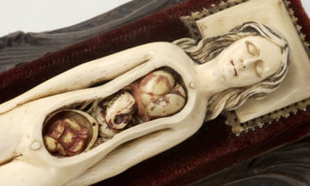 Ivory anatomical model, Exquisite Bodies exhibition