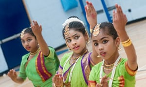 Students get to grips with the 2,000-year-old Indian dance form bharatanatyam