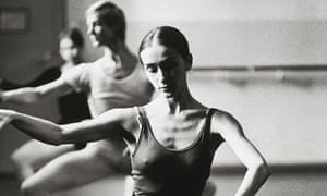 A young Pina Bausch training in Essen in 1966