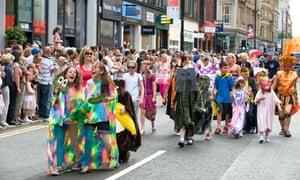 Jeremy Deller: Procession, Manchester International festival