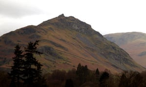 Grasmere view, Edward Lear's Lake District art