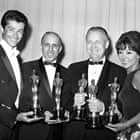 Oscar winners for West Side Story, including Jerome Robbins