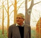 David Hockney with Bigger Trees near Water at Tate Britain
