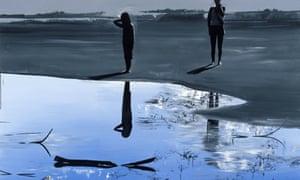 Wilhelm Sasnal: Untitled (Kacper and Anka), 2009  2009