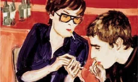 Elizabeth Peyton: Jarvis and Liam Smoking, 1997
