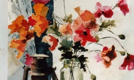 Still Life by John Lidzey, watercolour painter