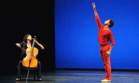 Natalie Clein and Carlos Acosta in Suite of Dances at the Manchester international festival