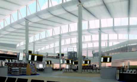 Norman Foster's new Terminal 2 at Heathrow airport