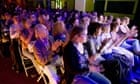 An audience for the Guardian's Live at the Edinburgh Festival comedy podcast