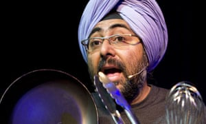 Hardeep Singh Kohli in The Nearly Naked Chef at the Gilded Balloon, Edinburgh
