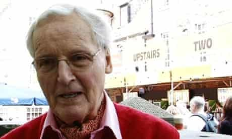 Radio 4 Just a Minute broadcaster Nicholas Parsons