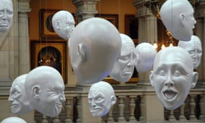 A Sophie Cave installation at Kelvingrove Art Gallery and Museum in Glasgow