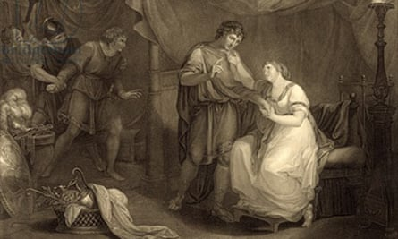 Act V, Scene II, from William Shakespeare's Troilus and Cressida', engraved by Luigi Schiavonetti