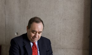 First Minister of Scotland and SNP party leader Alex Salmond MSP