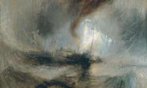 JMW Turner's Snow Storm and Steam-Boat off a Harbour's Mouth (1842) at Tate Britain