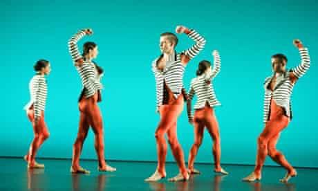 The Michael Clark dance company performs new work at the Edinburgh international festival