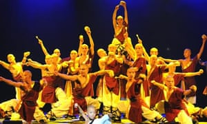 A scene from Chun Yi: The Legend of Kung Fu at the Coliseum in London
