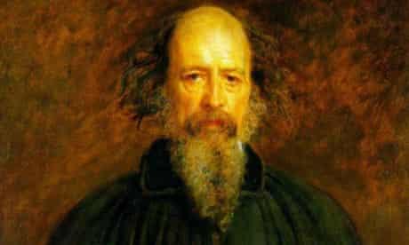 Lord Alfred Tennyson by John Everett Millais