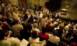 A theatre audience