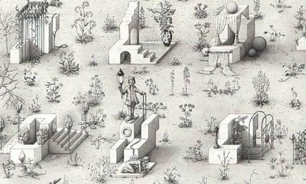 Paul Noble, Ye Olde Ruin (detail)