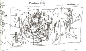 Page from Grayson Perry's sketchbook