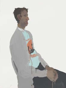 Gabor by Humphrey Ocean (gouache on paper)