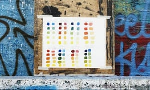 Guide to painting: colour palette