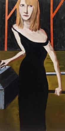 Yvonne by Chantal Joffe (oil on board, 2009)