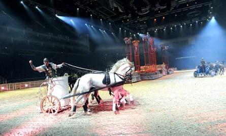 Ben Hur Live at O2 arena