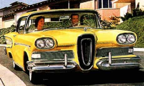 Advert for the 1958 Ford Edsel convertible
