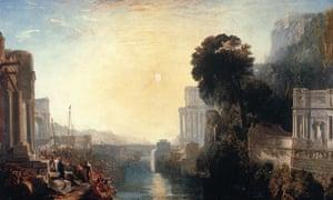 JMW Turner's Dido Building Carthage (1815)